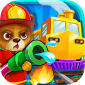 Pet Train Driver: Fire Saver icon