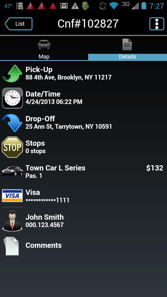 Скриншот Super Class Car Service