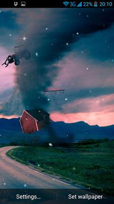 Tornado 3D Live Wallpaper - screenshot