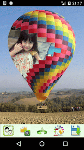 Balloon Look Photo Frames - náhled