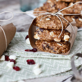 Cranberry Oatmeal Cookies with White Chocolate