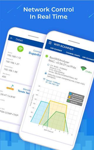 WiFi Scanner: Speed Tester, Signal Strength Meter ss2