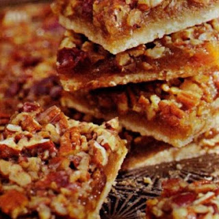 Pecan Bars with Cherries