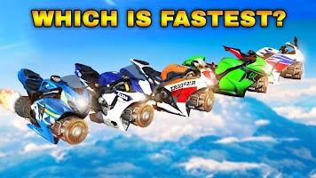 Mega Ramp Car Racing Stunts 3D- Impossible GT Race