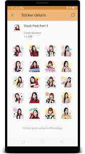 BlackPink WAStickerApps : Stickers for Whatsapp App Download For Android 2