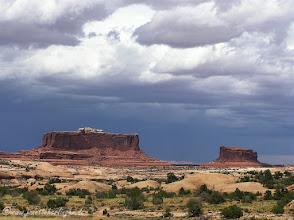 Photo: Canyonlands vor dem Gewitter