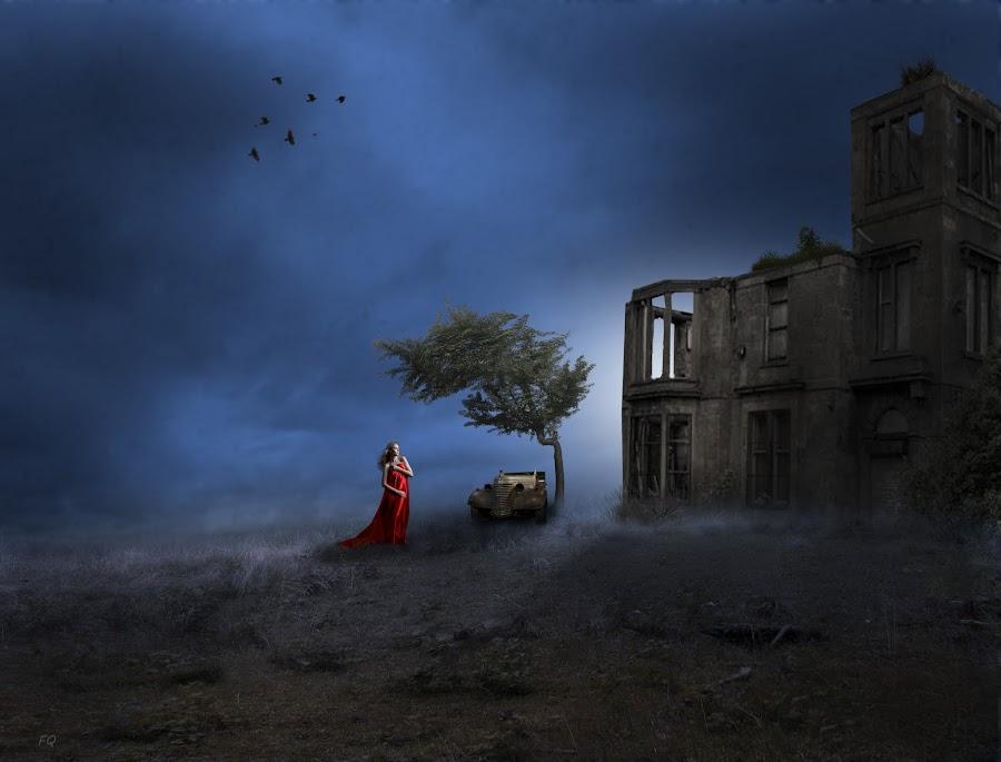 Carina by Frank Quax - Digital Art People ( fantasy, creative, portret, art, mood, landscape, manipulation, photoshop )