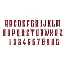 Sizzix Bigz XL Alphabet Die - Wonderland