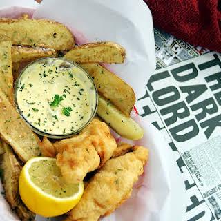 Leaky Cauldron Fish & Chips - Harry Potter Recipes.