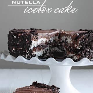 Nutella Icebox Cake.