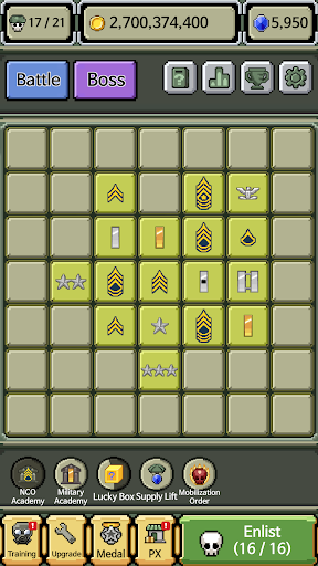 Raising Rank Insignia apktram screenshots 5