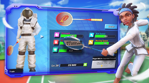 Badminton Blitz - Free PVP Online Sports Game 1.0.9.12 screenshots 14