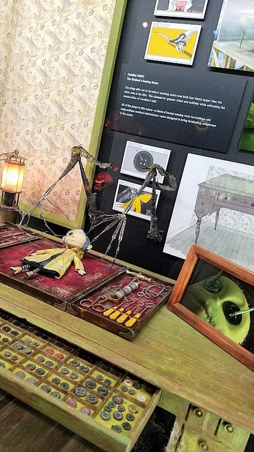 Animating Life The Laika Exhibit At Portland Art Museum Pechluck S Food Adventures