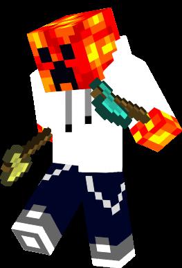 Iron Shovel Minecraft Cool Lava Creeper | No...