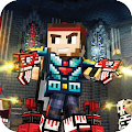 Pixel Combat Gun Block World Shooter