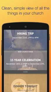Aware - Personal church news- screenshot thumbnail