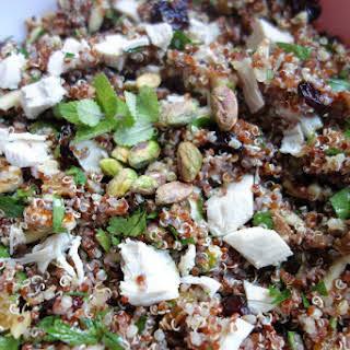Nutty Quinoa Salad.