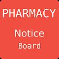 Pharmacy Notice Board