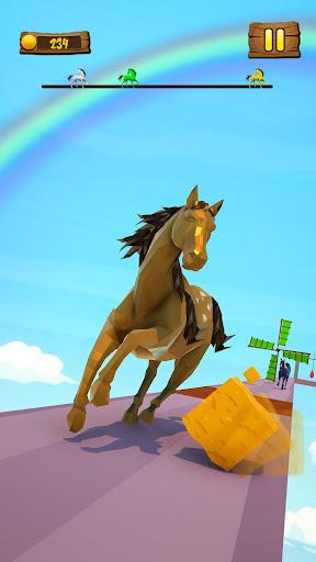 Horse Run Fun Race 3D Games apkpoly screenshots 5