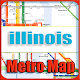 Download Illinois USA Metro Map Offline For PC Windows and Mac