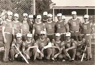 Photo: Ground Training Dept. (TD's) 1968 Softball Team