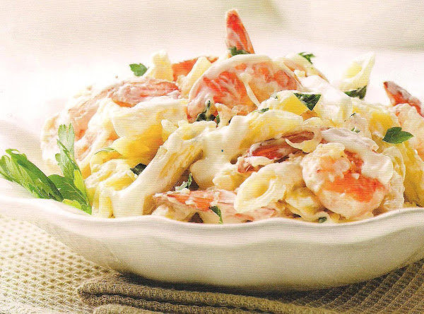Creamy Lemon Shrimp Pasta Recipe