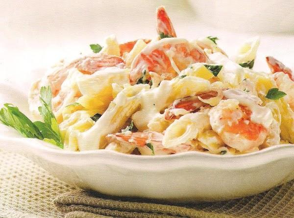 Creamy Lemon Shrimp Pasta Recipe