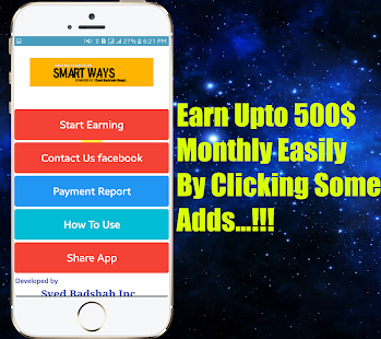 Smart Ways Earning App - náhled