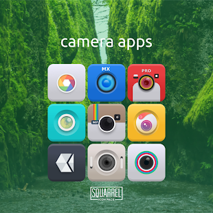 Squarrel Icon Pack- screenshot thumbnail