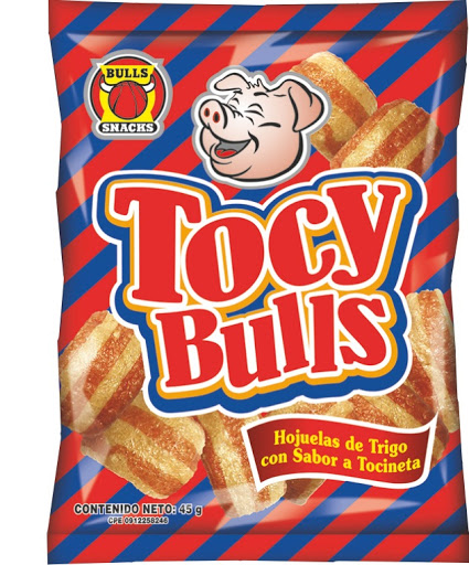 Snack Tocy Bulls 45Gr