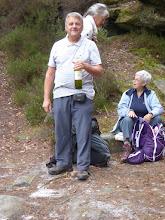 Photo: la convivialité....Notre ami Robert et son fameux Tariquet