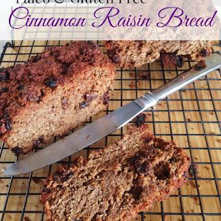 Paleo Cinnamon Raisin Bread (GF)