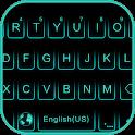 Neon Blue Keyboard Theme icon