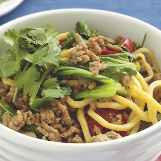 Pork and Cilantro Noodles