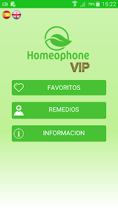Homeophone VIP screenshot 0