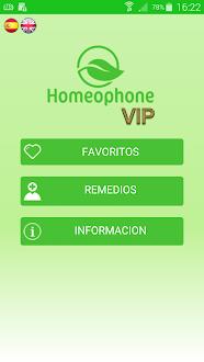 Homeophone VIP Gratis