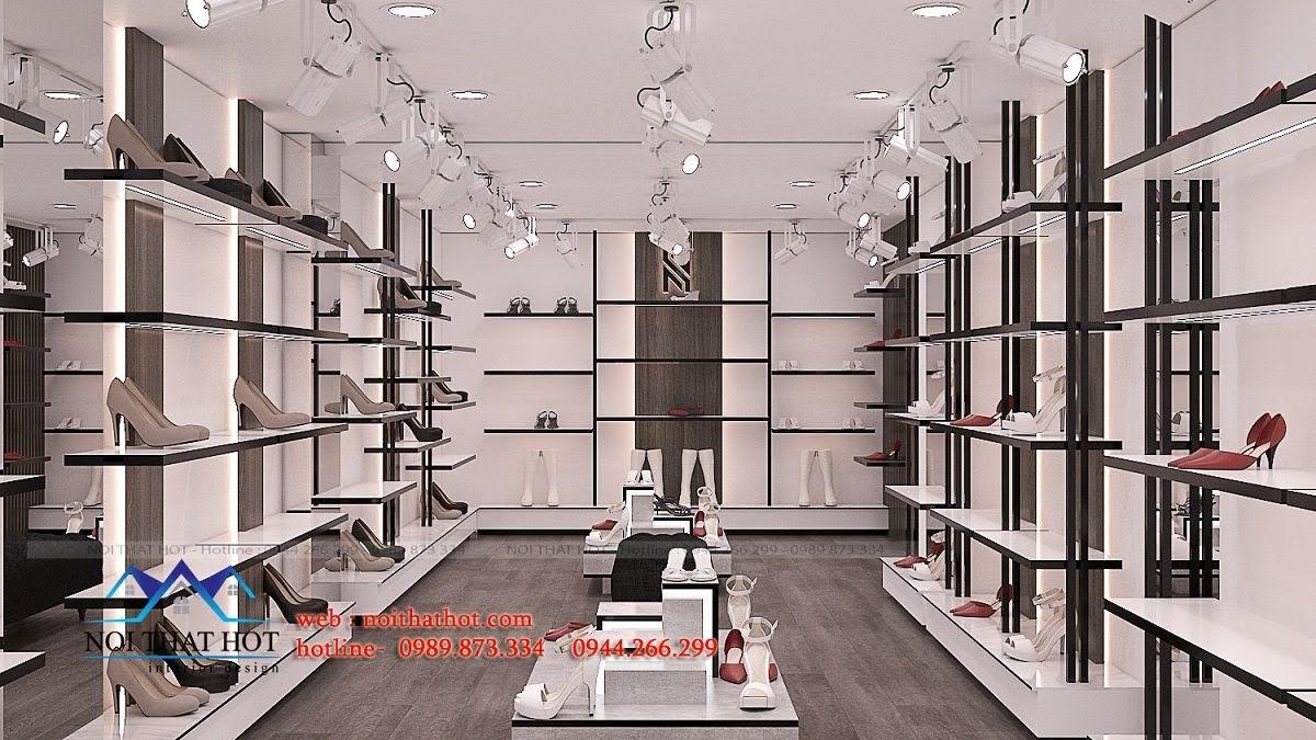 thiết kế shop giày dép thời trang ha huyen 6
