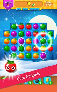 ?? Juice Match 3 Fruit Candy Christmas Puzzle - náhled