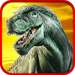 Sniper Dinosaur Shooting Icon