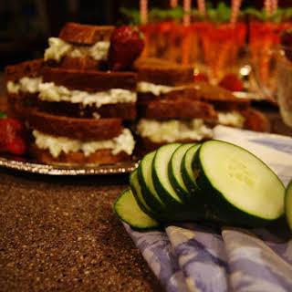 Kentucky Benedictine Tea Sandwiches.