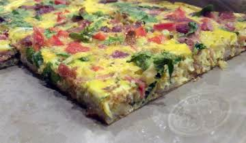 Large Bar Pan Quiche
