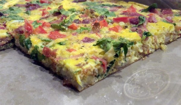 Large Bar Pan Quiche Recipe