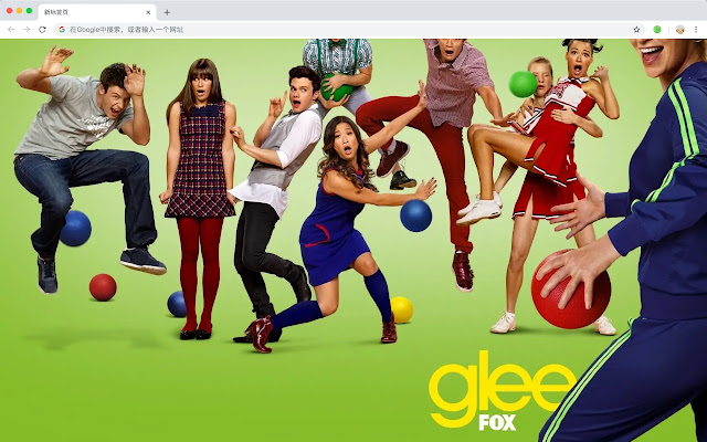 Glee New Tab Page Hd Wallpapers Movies Theme