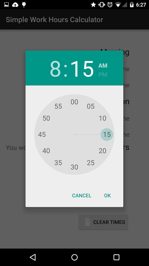 simple work hours calculator android apps on google play