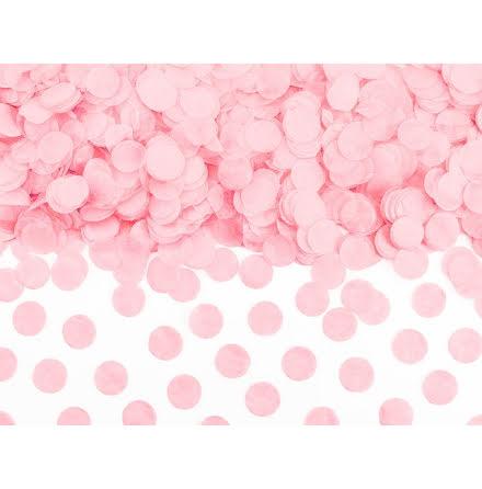 Papperskonfetti - ljusrosa