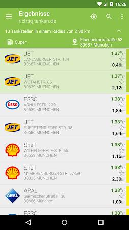 richtig-tanken.de 2.1.8 screenshot 599854