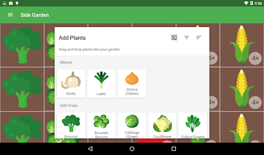 Planter garden planner android apps on google play for Garden planner app