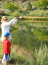 Photo: Casting lesson at the RVR Fishing Derby
