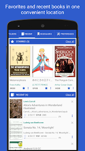 PRO Lirbi Reader: PDF, eBooks- screenshot thumbnail