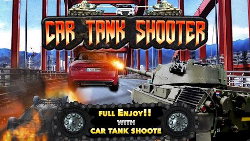 瘋狂的坦克VS瘋狂的汽車射擊